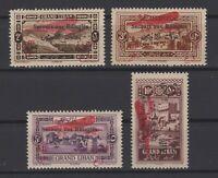 G139138/ FRENCH LEBANON – AIRMAIL – MAURY # PA13 / PA16 MINT MNH – COMPLETE