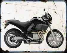 Buell M2 Cyclone 01 5 A4 metal sign moto Vintage Aged