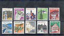SWITZERLAND Sc 558-62,64-8(MI 1003-12)**VF NH 1983 SET $12
