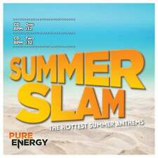Pure Energy Presents Summer Slam Aerobics Fitness Music CD BPM Designed