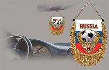 RUSSIA SOCCER FLAG CAR MINI BANNER, PENNANT