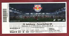 Orig.ticket CHAMPIONS LEAGUE 13/14 RED BULL Salisburgo-Fenerbahce Istanbul