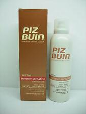 Piz Buin Self Tan Autoabbronzante Spray Corpo Max 150 ml
