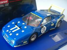 Carrera Digital 132 27126 Ferrari 512 BB Le Mans JMS Racing 1980 Nr. 77 Umbau!