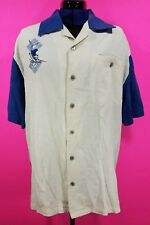 GUY HARVEY Aftco Bluewater Mens Button Down Shirt Marlins Fishing Size: L