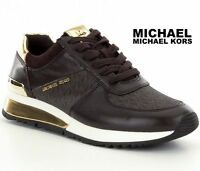 MICHAEL MICHAEL KORS Allie Wrap Sneakers Trainer Sport Gym Designer Shoes NWB -