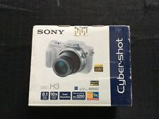 Sony Cyber-shot DSC-H3 8.1MP Digital Camera - Black