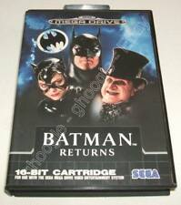 Mega Drive (PAL) - BATMAN RETURNS - COMPLETO Sega MEGADRIVE