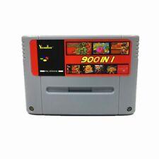 Retro 900 in 1 Video Game Card for Nintendo Super Famicom 16Bit SNES NTSC PAL EU