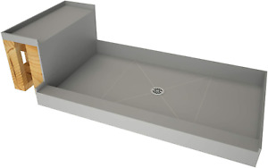 Tile Redi USA - Base'N Bench P3648C-RB36-KIT  Tileable Shower Pan & Seat - & 60