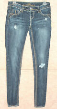 Women's Almost Famous distressed skinny jeans , sz 3