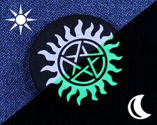 Glow in the Dark Supernatural Anti-Possession Button - Anti-Possession Pin