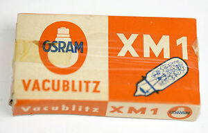 5 Osram Vacublitz XM1 weiß