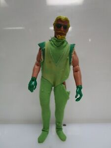 "Vintage 1974 Mego Green Arrow WGSH 8"" Original Action Figure"