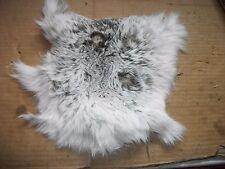 NICE tanned JACK RABBIT FUR pelt skin NATIVE CRAFTS supplies bag purse pouch R9