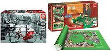 Pack Puzzle Educa 17116. Amsterdam. 1000 Piezas Miniature + Tapete Universal