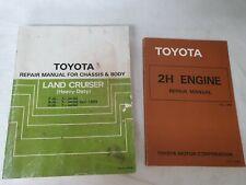 Toyota 60 Series Workshop Manuals