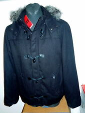 QS By S. Oliver Giacca Giacca Invernale XXL NUOVO cappuccio Montgomery Cappotto Duffle Coat
