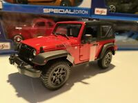 2014 Jeep Wrangler Willy's - Die Cast Maisto Special Edition 1:18 scale