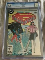 The Man of Steel #2 (1986, DC Comics) CGC 9.8-John Byrne-1st Print-NM/M
