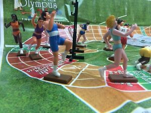 MOUNT OLYMPUS KIDS TOYS ACTION FIGURE LINEUP TRACK & FIELD NEW RELAY SPORT GAME
