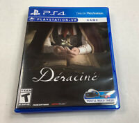 Deracine PS4 (Sony Playstation 4, 2018) Playstation VR PSVR Tested Working