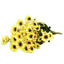 Artificial Simulation Sunflower Plant with 54 Heads of Flowers Decoration P1I5