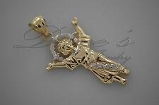 Divino Niño / Divine Child Jesus  Santo Niño Pendant 14k Real Gold 26132