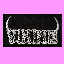 Viking Thrash Metal Music Rock Band Logo Dark Angel Iron On Embroidered Patch
