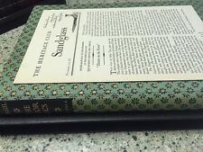 The Georgics by Publius Virgilius Maro - Heritage Press Slipcover & Sandglass