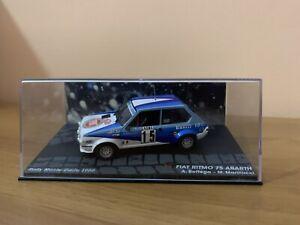 Die cast 1/43 Modellino Auto Fiat Ritmo 75 Abarth Rally Monte Carlo 1980 Bettega