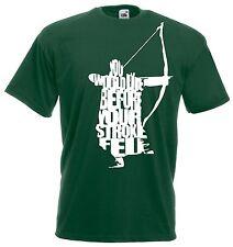 T-shirt Maglietta J1207 Legolas Words Signore Degli Anelli Tolkien Saga