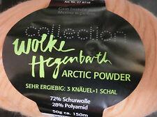 (144,40€/kg): 500 g ARCTIC POWDER, Wolke Hegenbarth, pink 03, Volumengarn #1609