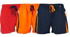 Skiny Herren Badeshorts Badehose Shorts rot blau oder orange 86096