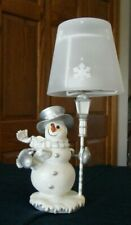SNOWMAN Tealight CANDLE HOLDER