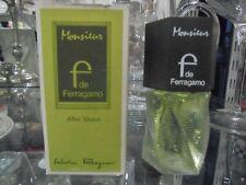 MONSIEUR  F  de FERRAGAMO after shave 60ml very rare vintage perfume