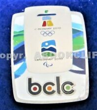 2010 OLYMPICS British Columbia Lottery Commission SPONSOR BCLC Lapel Pin
