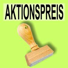 AKTIONSPREIS - Holzstempel 10 x 35mm Büro Stempel