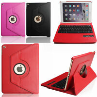360° Rotating Stand Leather Case w Wireless Bluetooth Keyboard For iPad 2 3 4