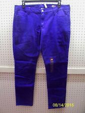 ARIZONA Jr 19 Super Skinny Clmatis Blue Jeans / Jeggings Low Rise FREE Shpg NWTA