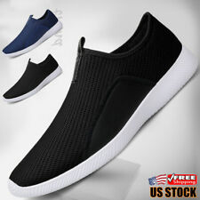 Casual Men's Tennis Shoes Outdoor Walking Athletic Running Slip on Sneakers Gym