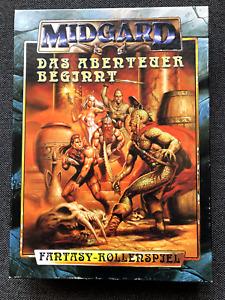 Midgard Fantasy Rollenspiel - Das Abenteuer beginnt - Einsteigerbox