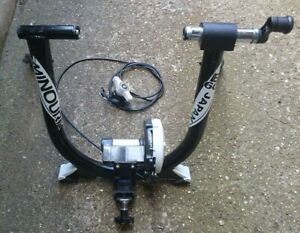MINOURA B60 CYCLE MAGNETIC TURBO TRAINER - MADE IN JAPAN