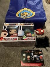 Marvel Collector Corps EXCLUSIVE Spiderman Far From Home Box Mysterio No Sticker