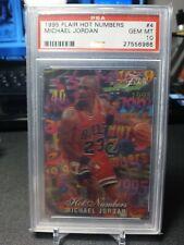 1995-96 Flair Hot Numbers Michael Jordan #4 PSA 10