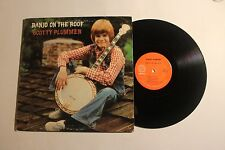 SCOTTY PLUMMER Banjo On The Roof LP American Int AVL-1030 1975 VG+ SIGNED 12A