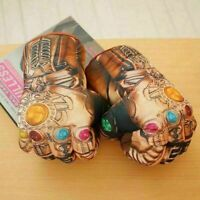 1Pair Avengers Endgame War Thanos Infinity Gauntlet Cosplay Boxing Gloves Toy