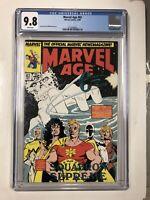 Marvel Age (Dec 1989) # 82 (CGC 9.8 White Pages) 1st App Cable (Predates NM#87)