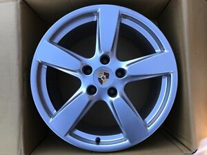 "PORSCHE BOXSTER CAYMAN 981 19"" REAR ALLOY WHEEL 981.362.143.03 9.5Jx19 ET45 OEM"