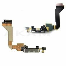 iPhone 4 4G Charging Port Flex MIC Dock Connector Black Cable